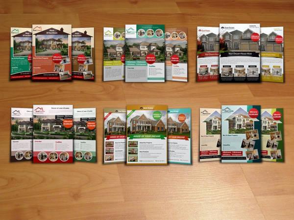 real estate rental flyer bundle1