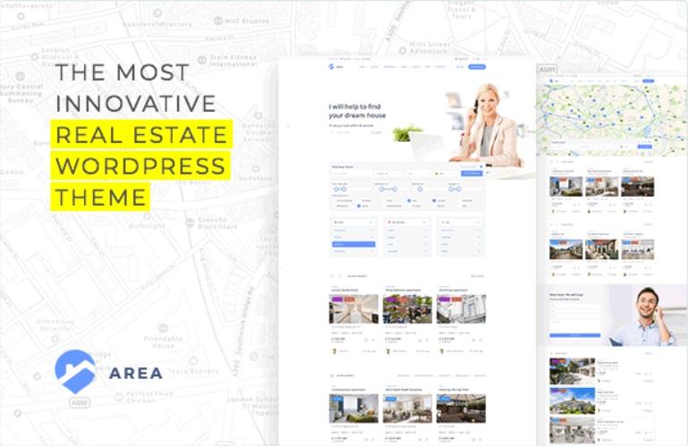 realtor website template for rental properties