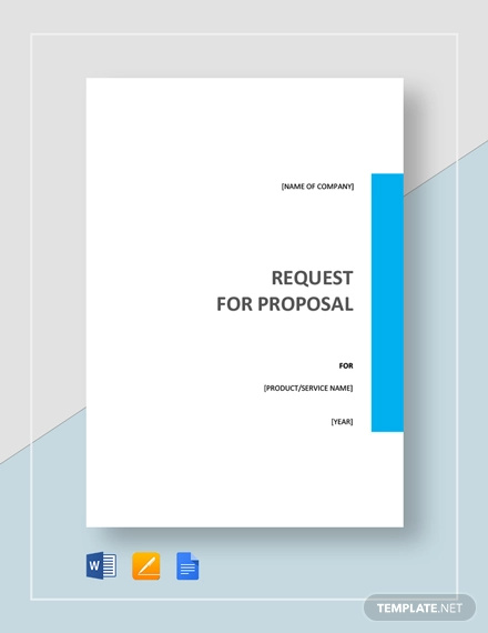 32+ Request For Proposal Examples - Word, PDF | Examples