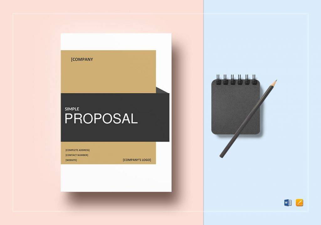 residential real estate business proposal template 1024x717