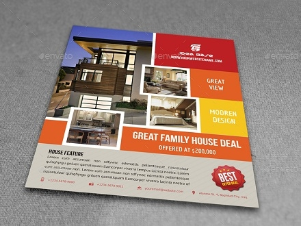 residential real estate flyer vol