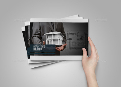 residential real estate property brochure template