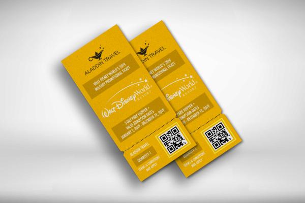 resort travel ticket