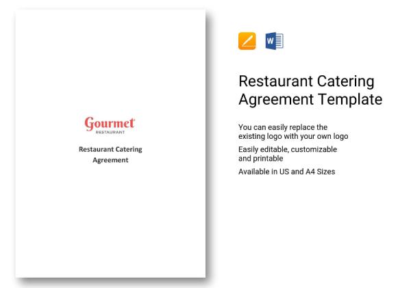 restaurant catering agreement1