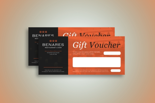 restaurant and bar voucher