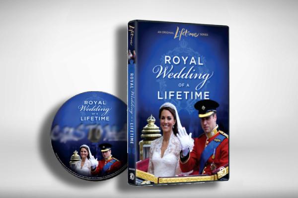 royal wedding of a lifetime dvd cover