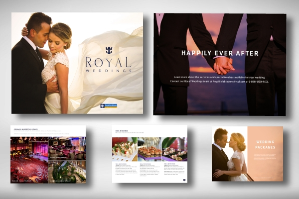 royal weddings brochure