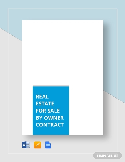sales real estate contract template