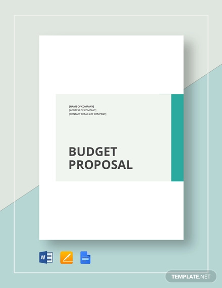 15+ Budget Proposal Examples - PDF, Word, Pages | Examples