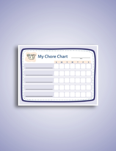 simple family chore schedule