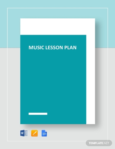 simple music lesson plan
