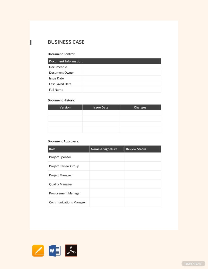 simple real estate case study template
