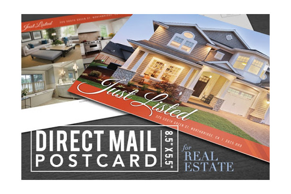 simple real estate postcard example