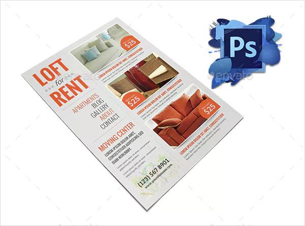 simple real estate rental flyer template1