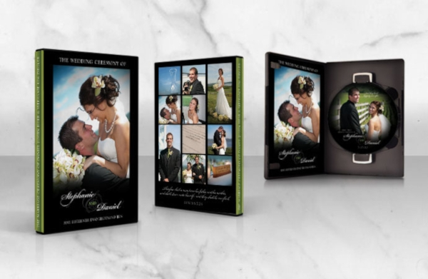 simple wedding dvd cover