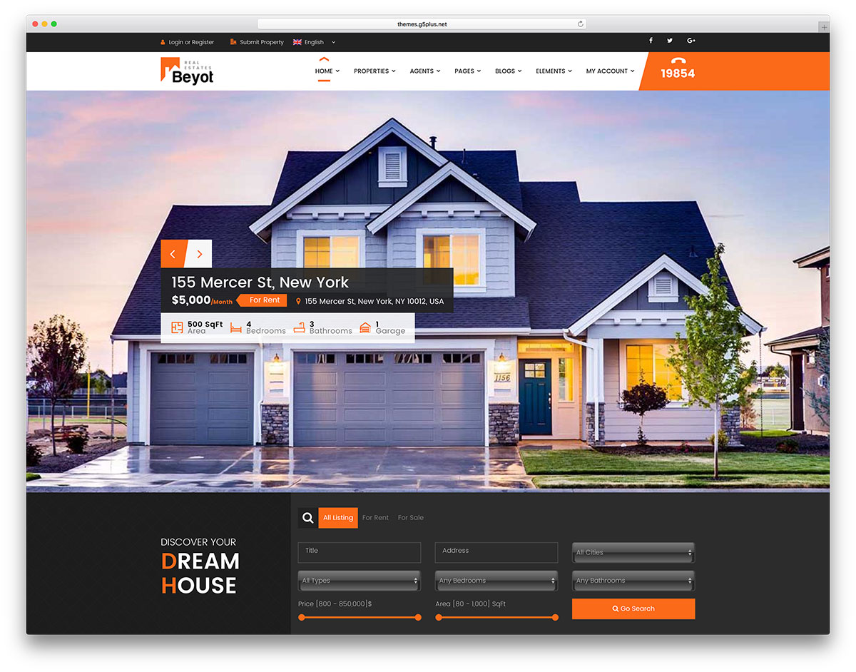 smart commercial real estate wordpress template1