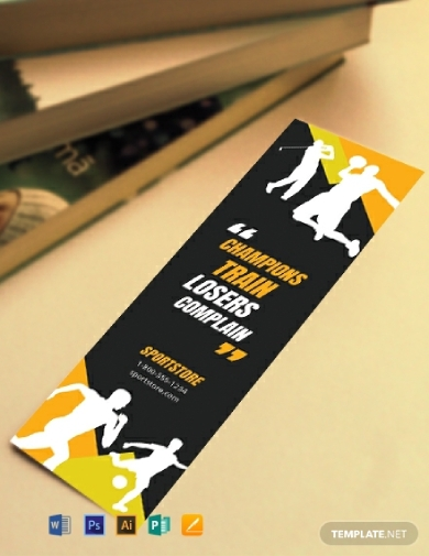 sports business bookmark