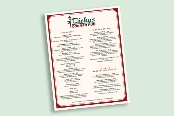 spring pub menu1