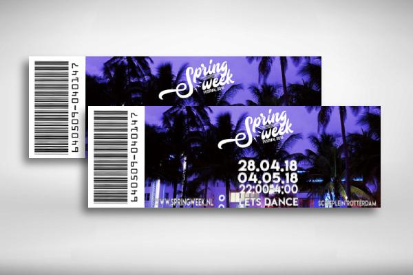 spring week festival ticket
