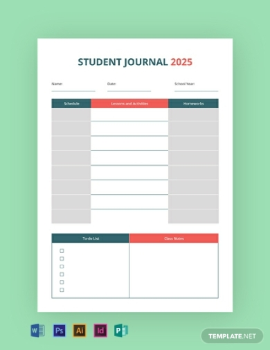 student educational journal