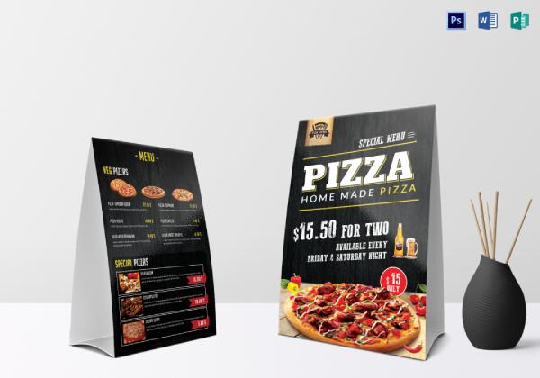 table tent pizza menu1