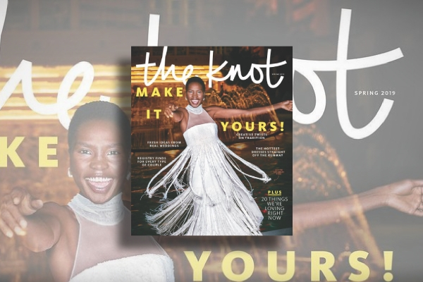 the knot wedding magazine