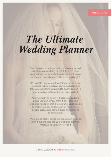 the ultimate wedding planner