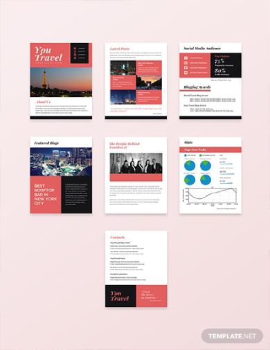 travel blog media kit