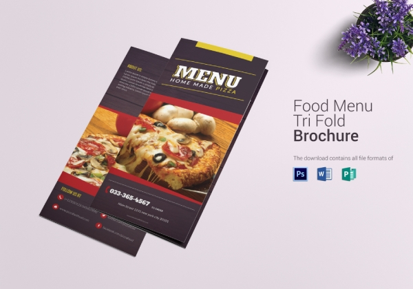trifold pizza menu1