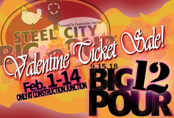 valentines day sale ticket