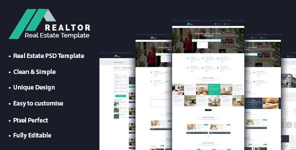 versatile realtor website template