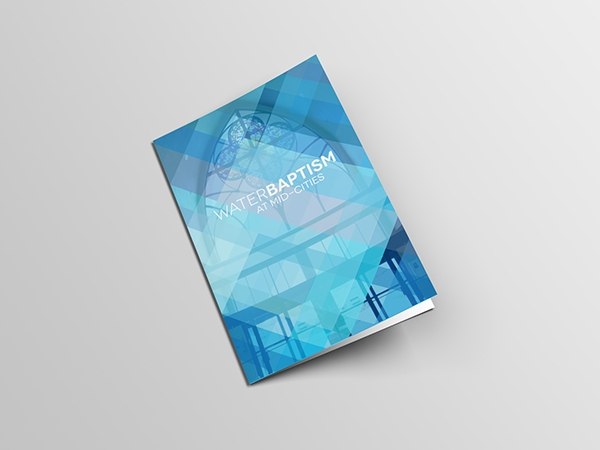 water baptism brochure
