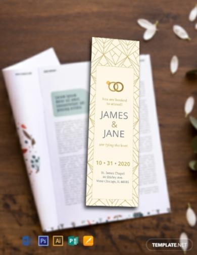 wedding bookmark1