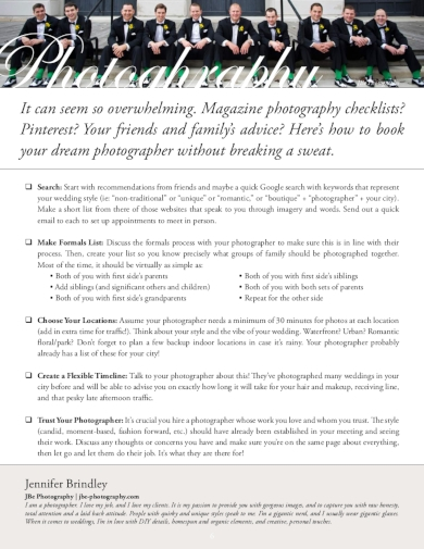 10+ Best Photography Shoot Plan Examples & Templates