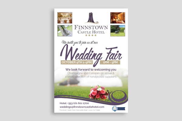 wedding fair poster