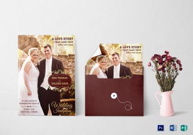 wedding invitation flyer1