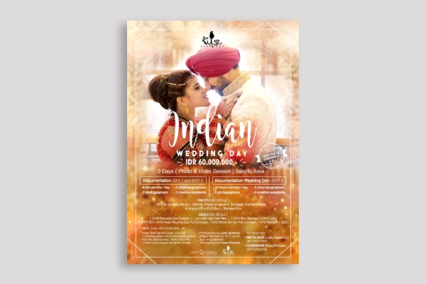 wedding package poster