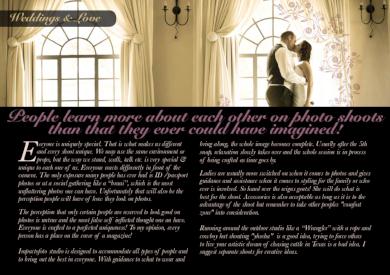 wedding photography shoot plan
