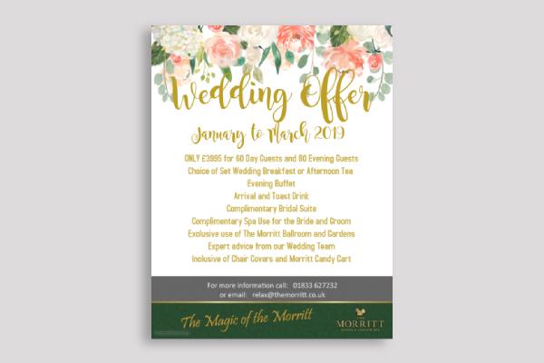 wedding promo poster