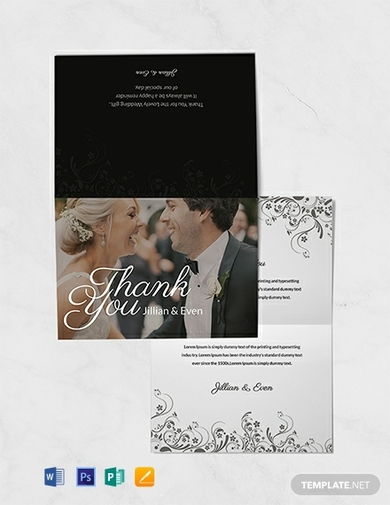 wedding thank you card1