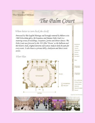 wedding venue proposal