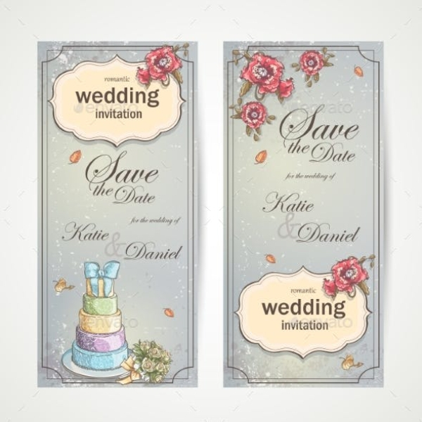 wedding vertical banner