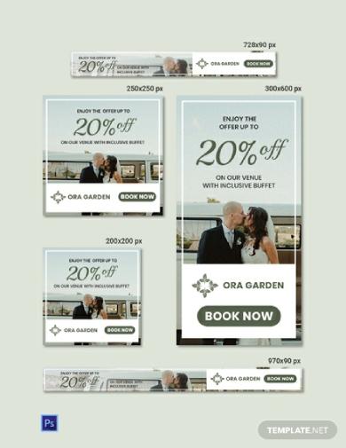 wedding web banner