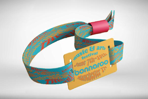wristband festival ticket