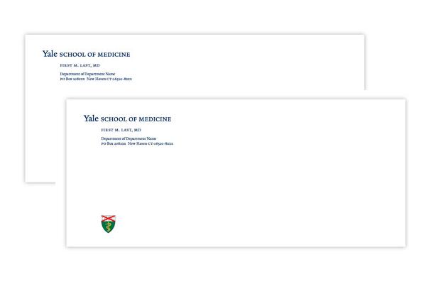 yale school of medicine envelope