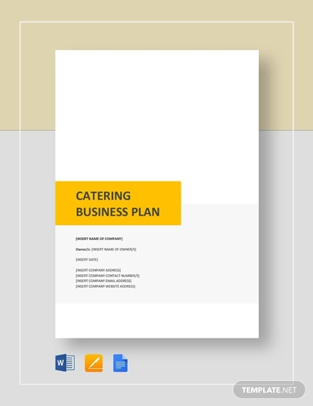 mobile kitchen business plan south africa