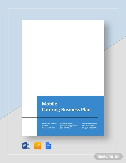 mobile catering business