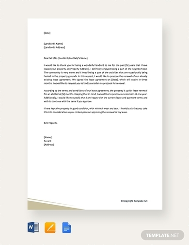 residential lease renewal letter1