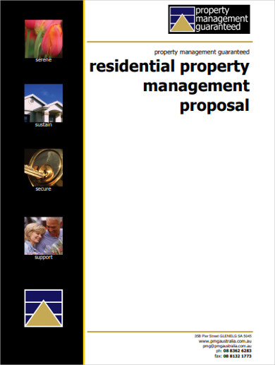 residential property management proposal