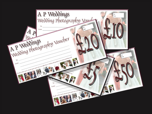 wedding photographer voucher
